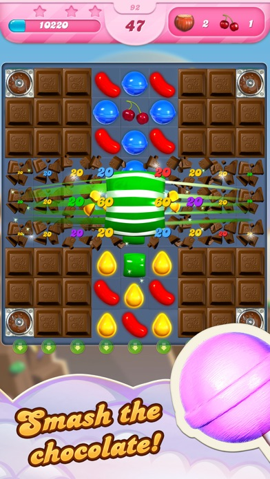 Screenshot of Candy Crush Saga App