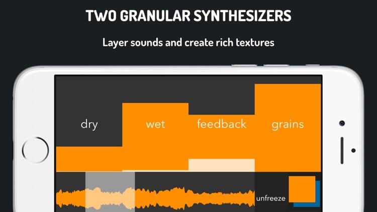 GrainProc: granular synthesis