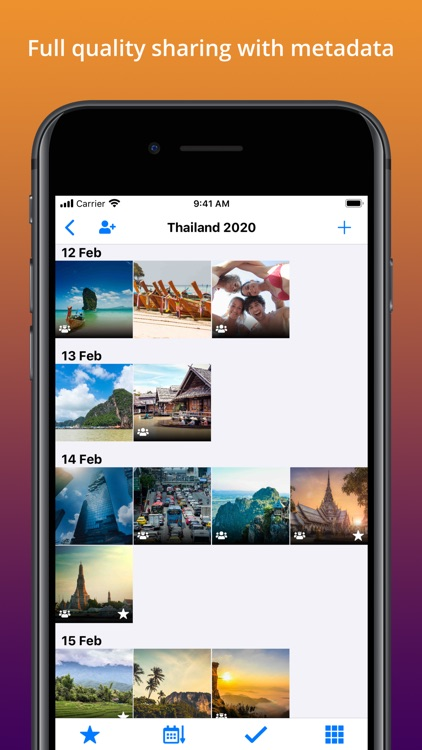 TripUp – Private Photo Sharing