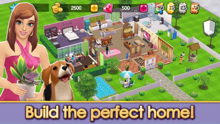 Home Street: Dream House Sim screenshot-0
