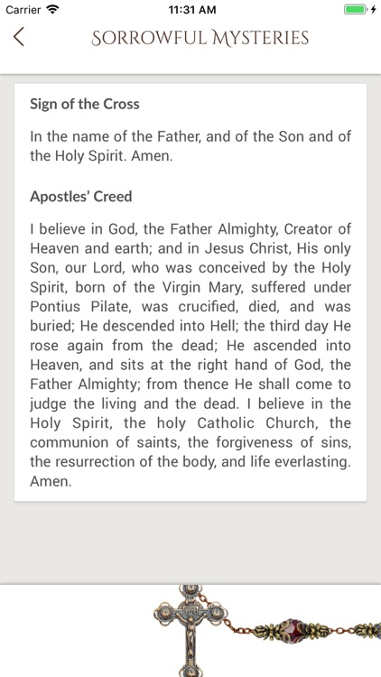 Contemplative Rosary screenshot-3
