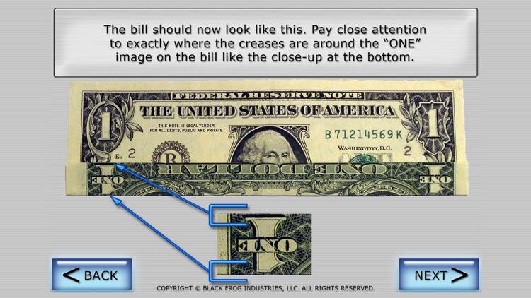 Dollar Ring Origami screenshot-3
