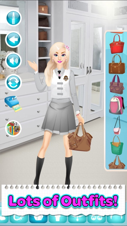 Back To School Makeup Games screenshot-3