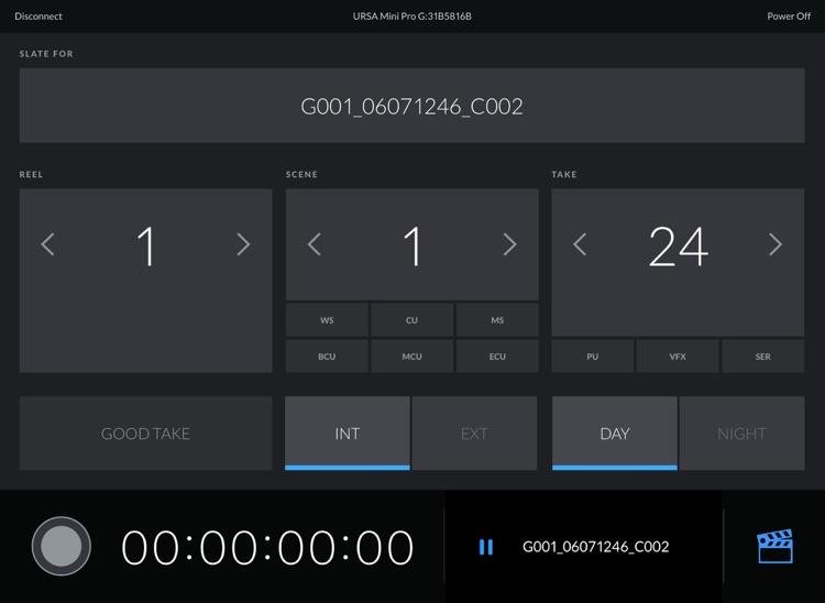 Blackmagic Camera Control screenshot-3