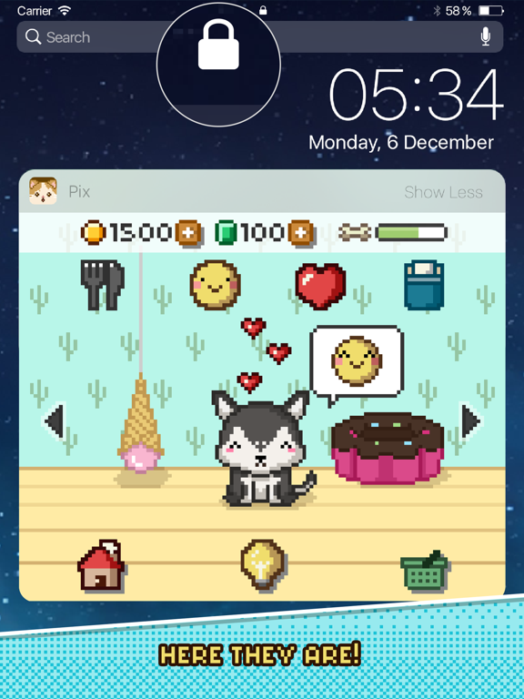 Pix! - Virtual Pet Widget Game screenshot 6