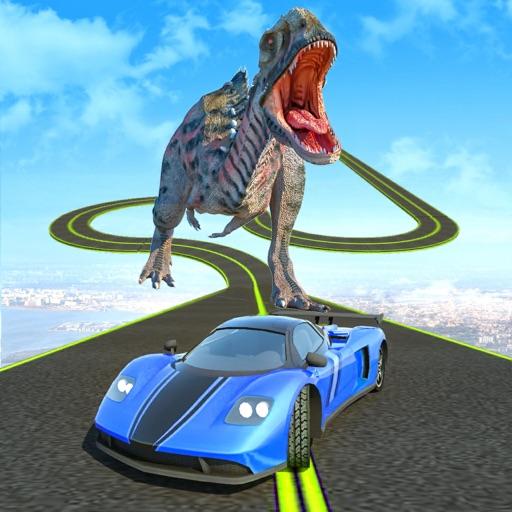 Dinosaur Car Chase