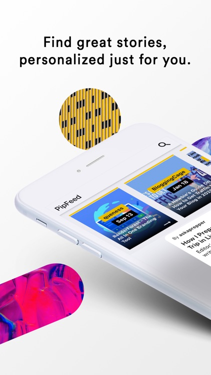 Pipfeed: Personal reading app screenshot-4