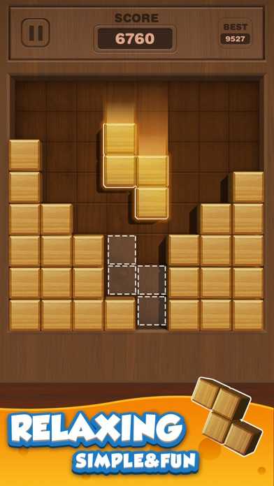 Wood Puzzle 3D - Fun Classic screenshot #3