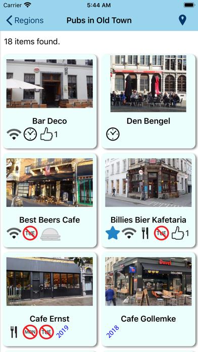 Beer Guide Antwerp screenshot three