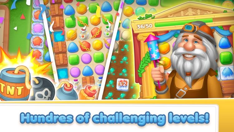 Gem Crush - Match 3 Puzzle screenshot-4