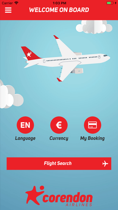 Corendon Airlines screenshot one