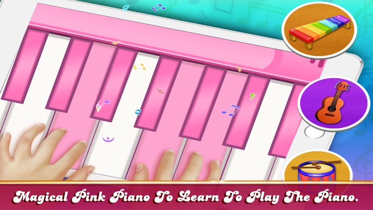 Girly Pink Piano Simulator screenshot-6