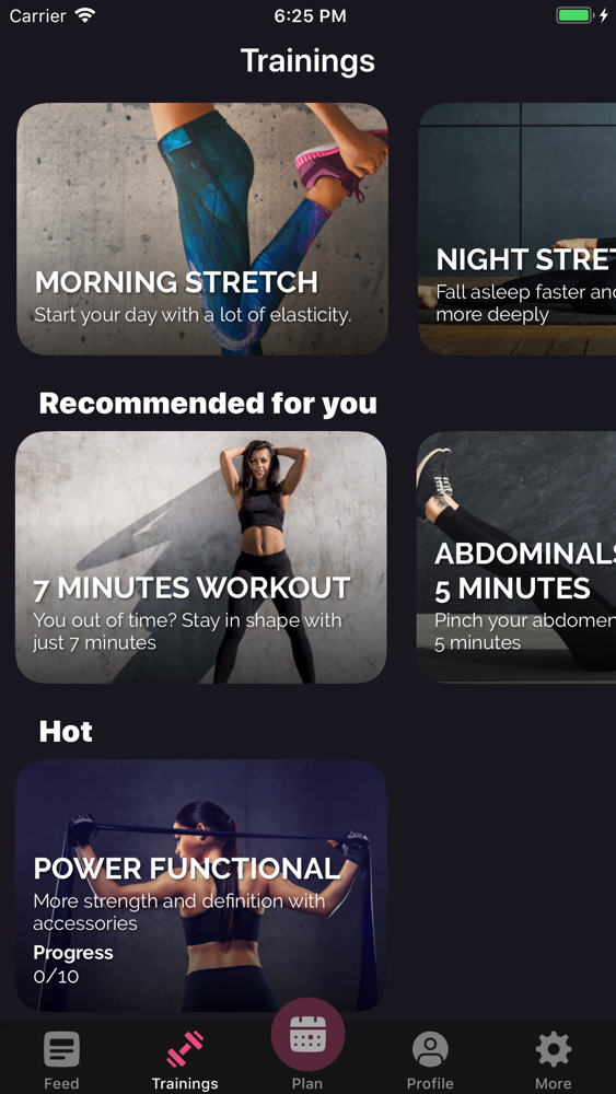 Workout – Weight loss at home App for iPhone - Free Download