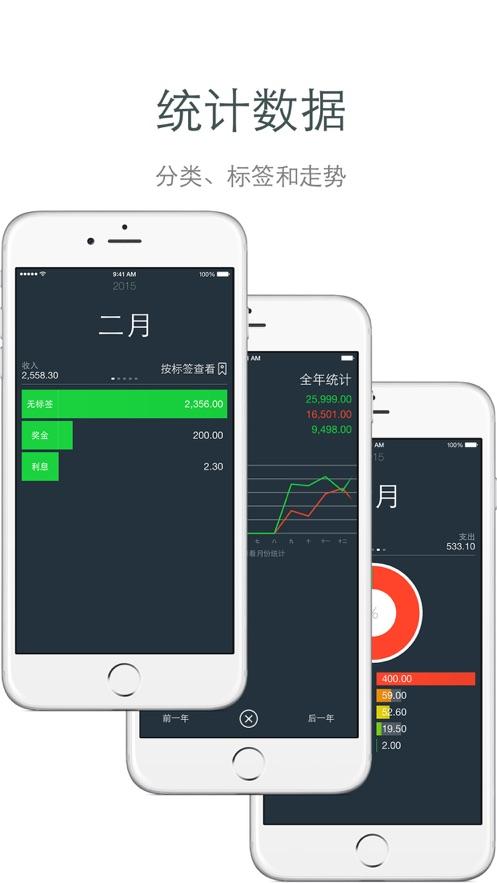 Money - 爱记账 App 截图