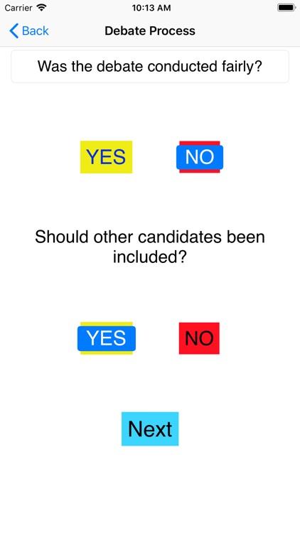 Rate the Debate screenshot-6