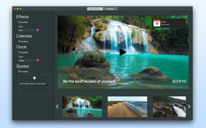 Background Videos 4K for Mac