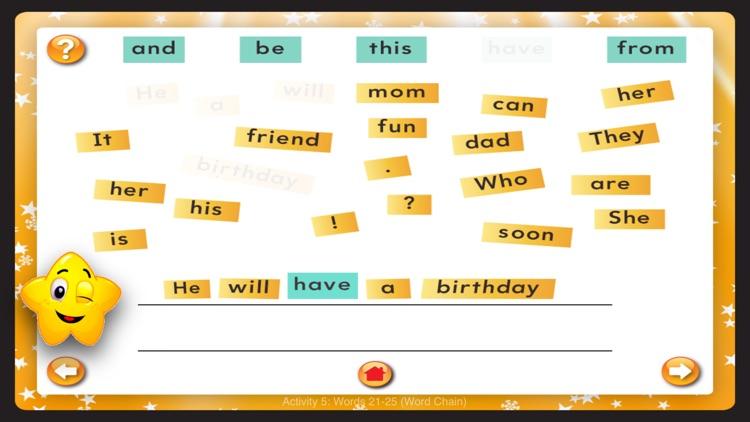 Sight Words 1-300 screenshot-8
