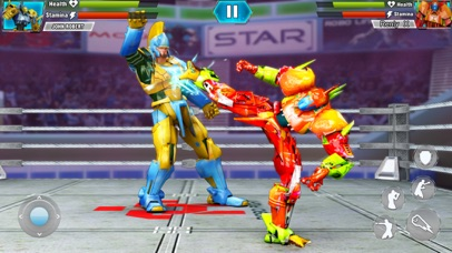 Robot Wrestling: Steel Fight screenshot 1
