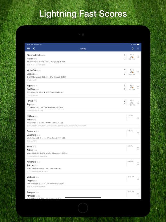 Scores App: for MLB Baseball on the App Store