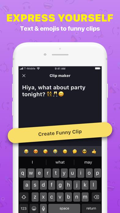 Funny Clip Maker Screenshot