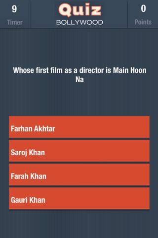 Quiz Bollywood - náhled