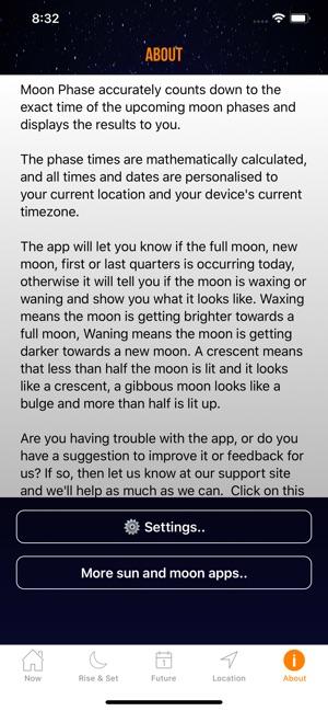 moon phase calendar plus on the app store rh itunes apple com