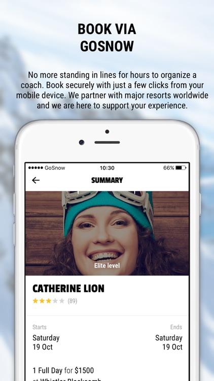 GoSnow: Ski,Snowboard,Lessons screenshot-3