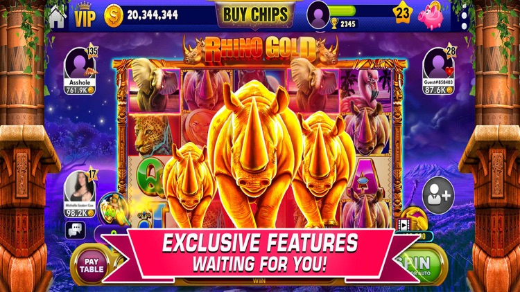 Vegas Slots - 7Heart Casino screenshot-1