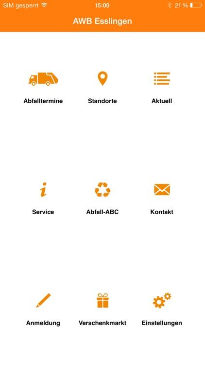 Abfall-App AWB Esslingen