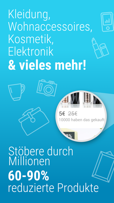 Screenshot for Wish - Smart Shoppen & Sparen in Germany App Store