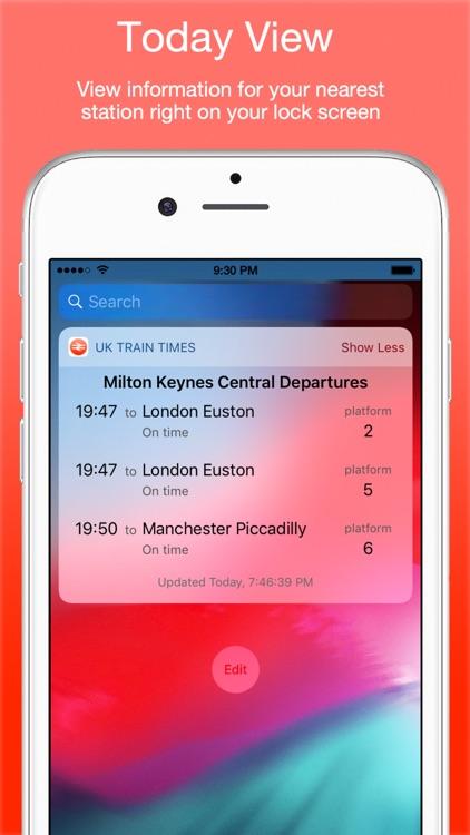 UK Live Train Times screenshot-4