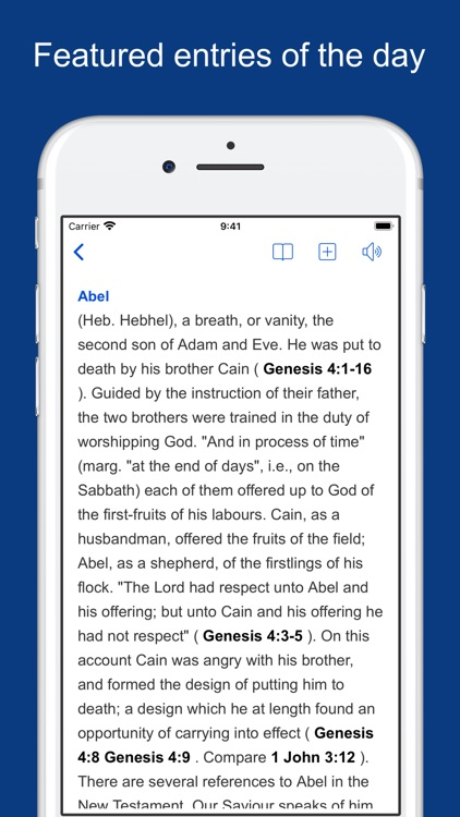 Bible Dictionaries and Books screenshot-6