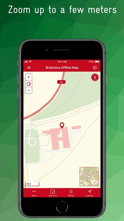 Bratislava Offline Map screenshot-5