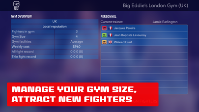 World Title Boxing Manager screenshot three