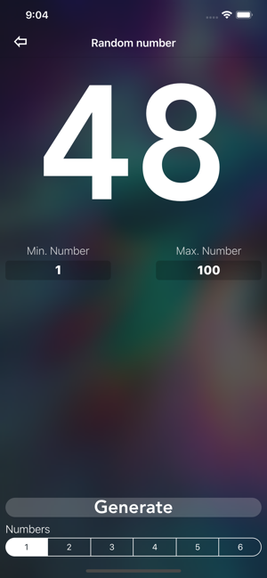 ‎Random Number Generator + Screenshot