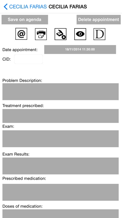 My Patients Mobile screenshot-3