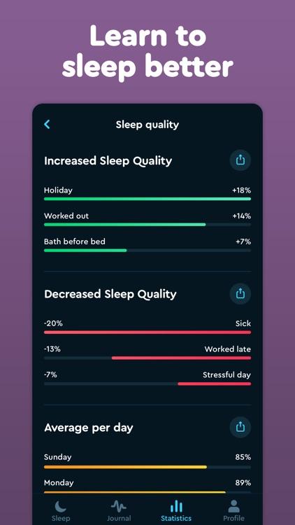 Sleep Cycle: smart alarm clock screenshot-5