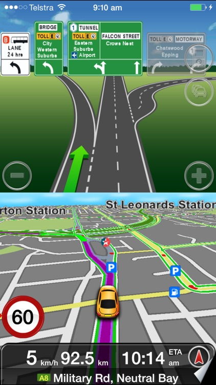 MetroView GPS Navigation screenshot-0