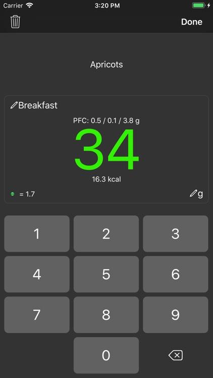 Noco Calories screenshot-8