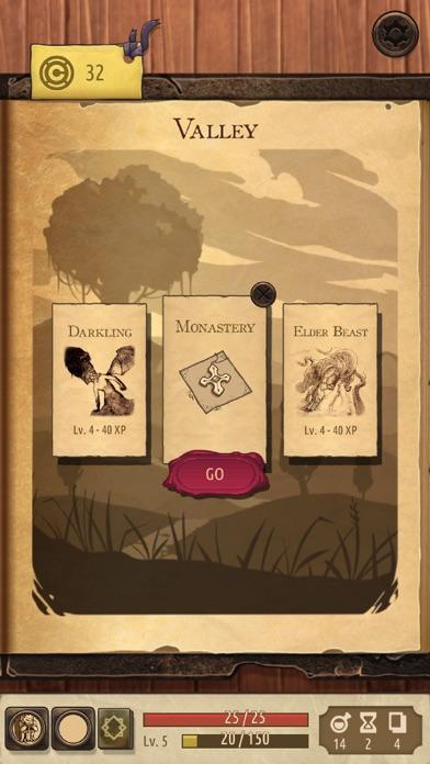 Screenshot for Spellsword Cards: Origins in United States App Store
