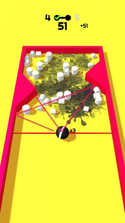 Color Ball Strike! Paint Rush screenshot-4