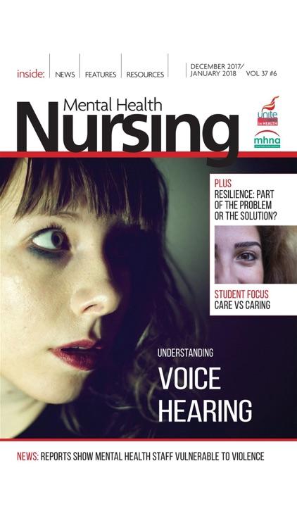 Mental Health Nursing Journal screenshot-7