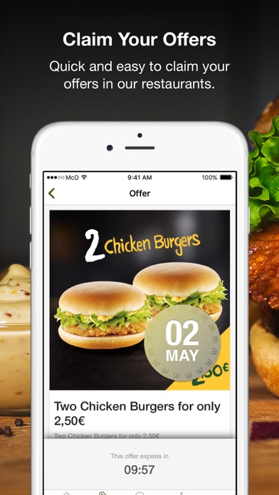 Screenshot for McDonald's in Jordan App Store