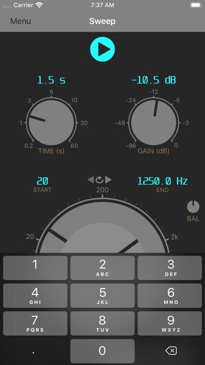 Audio Signal Generator screenshot-4
