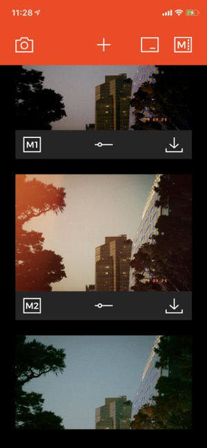 ‎Filmlike Camera Screenshot