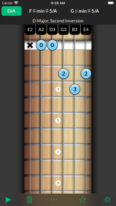 Reverse Chord Finder Pro screenshot
