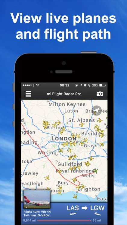 mi Flight Radar Pro Tracker 24 screenshot-0