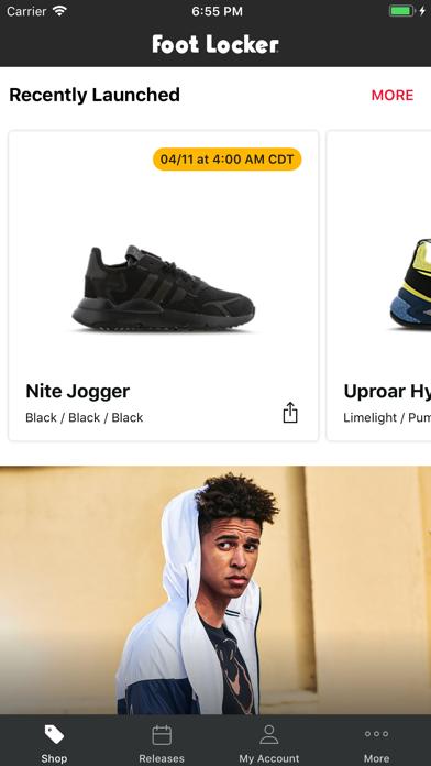 Herunterladen Foot Locker - Schuhe shoppen für Pc