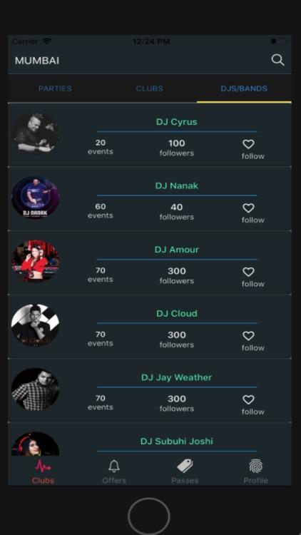 GuestList: clubs guestlist