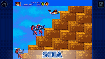Screenshot from Gunstar Heroes Classic